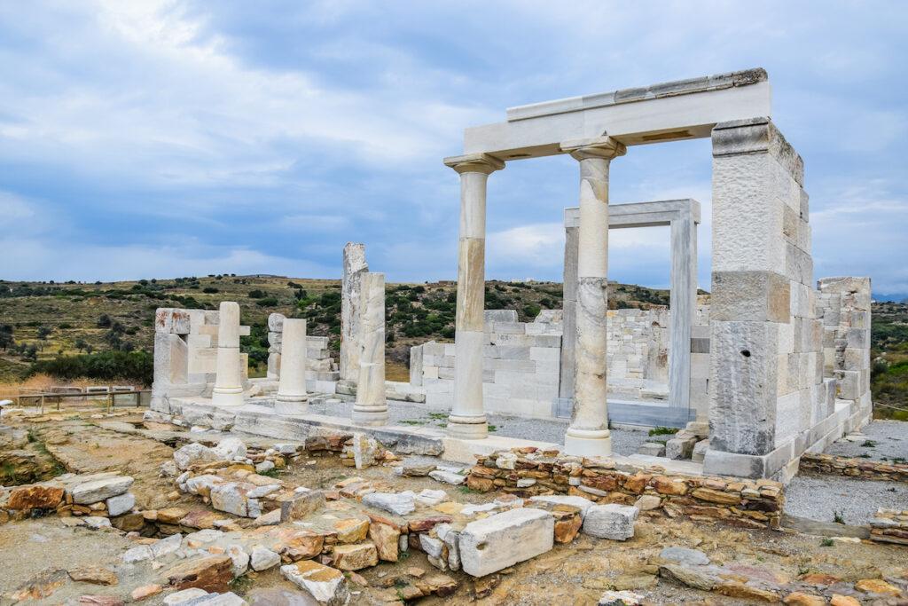 Temple of Demeter, Sangri, NAxos, Greece.