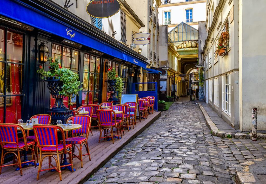 A cafe in Paris.