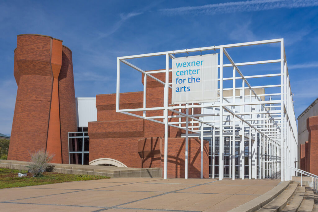 Wexner Center for the Arts on the campus of The Ohio State University.