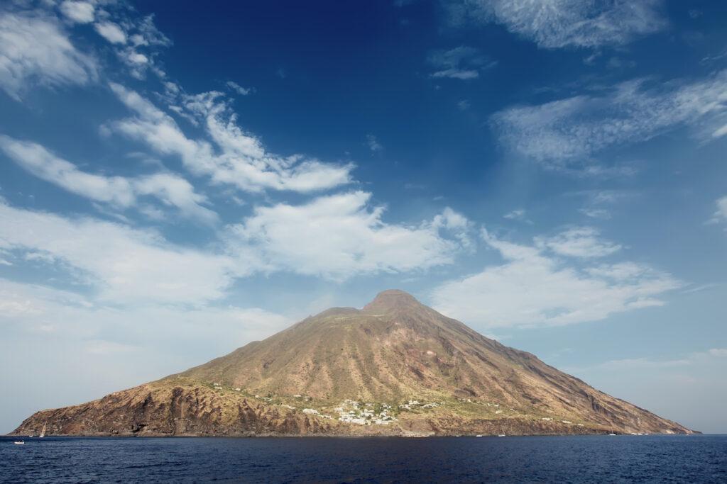 Mount Stromboli in Italy.