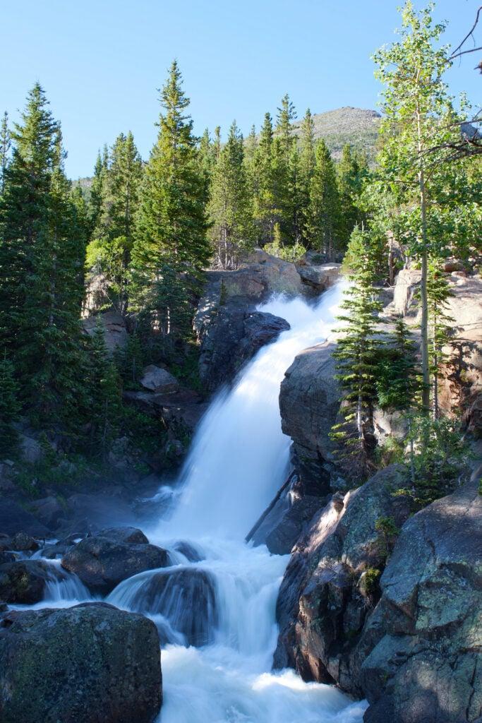 Alberta Falls in Rocky Mountains National Park, Colorado
