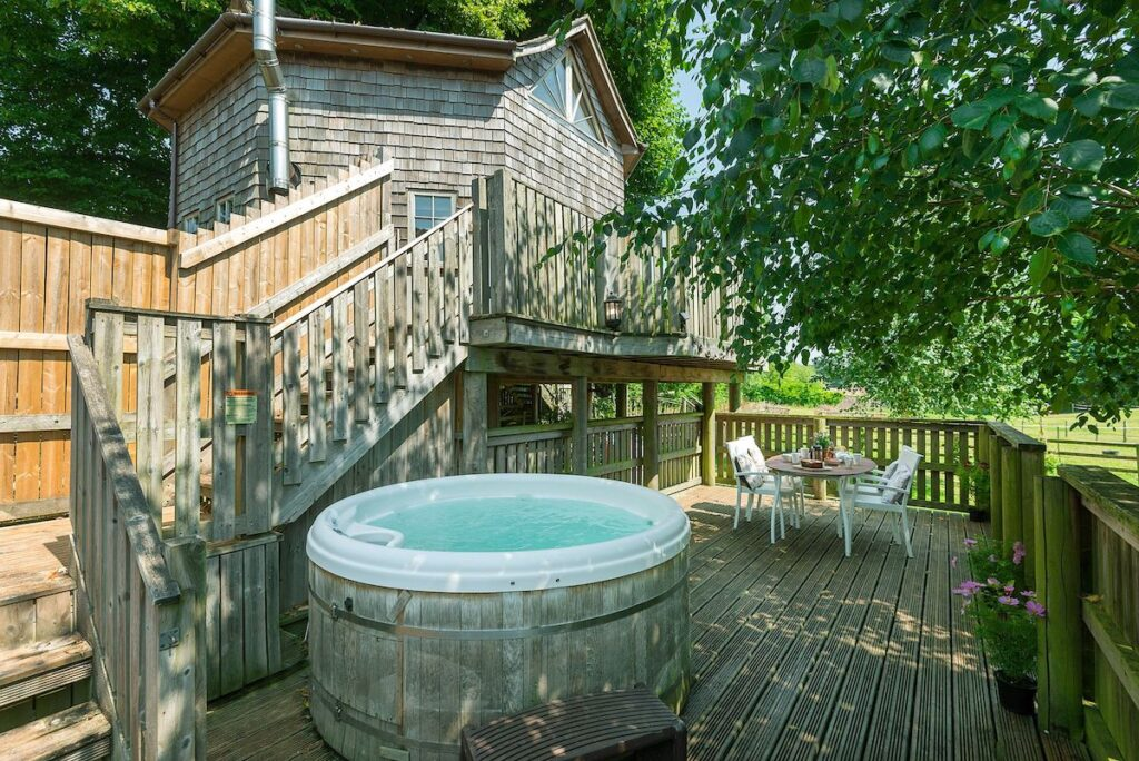 The Treehouse in Halse, Somerset.