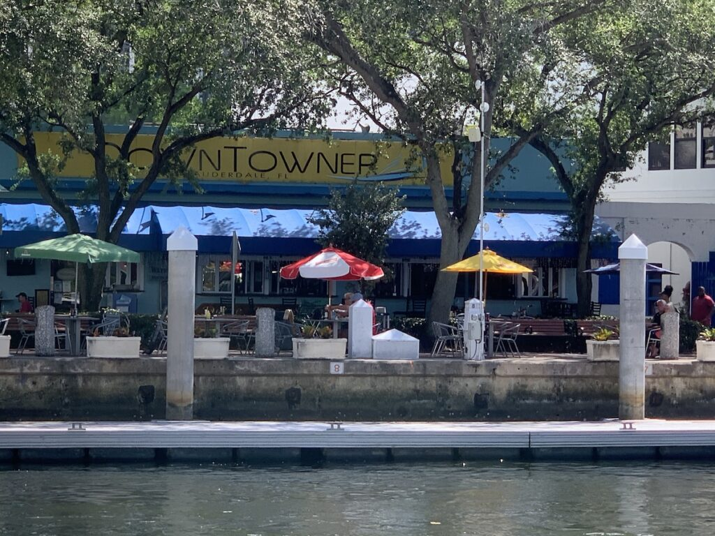 The Historic Downtowner restaurant, Fort Lauderdale.
