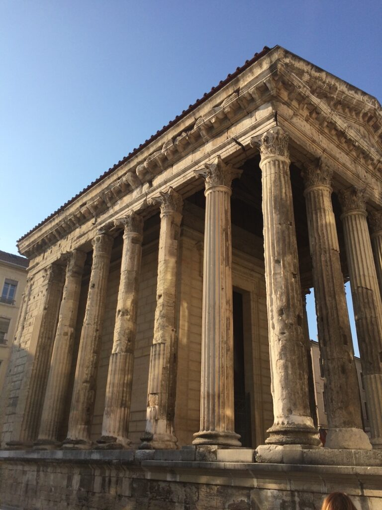 Temple of Augustus and Livia, Vienne.