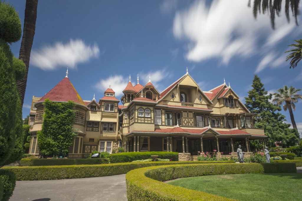 Winchester Mystery House in San Jose.