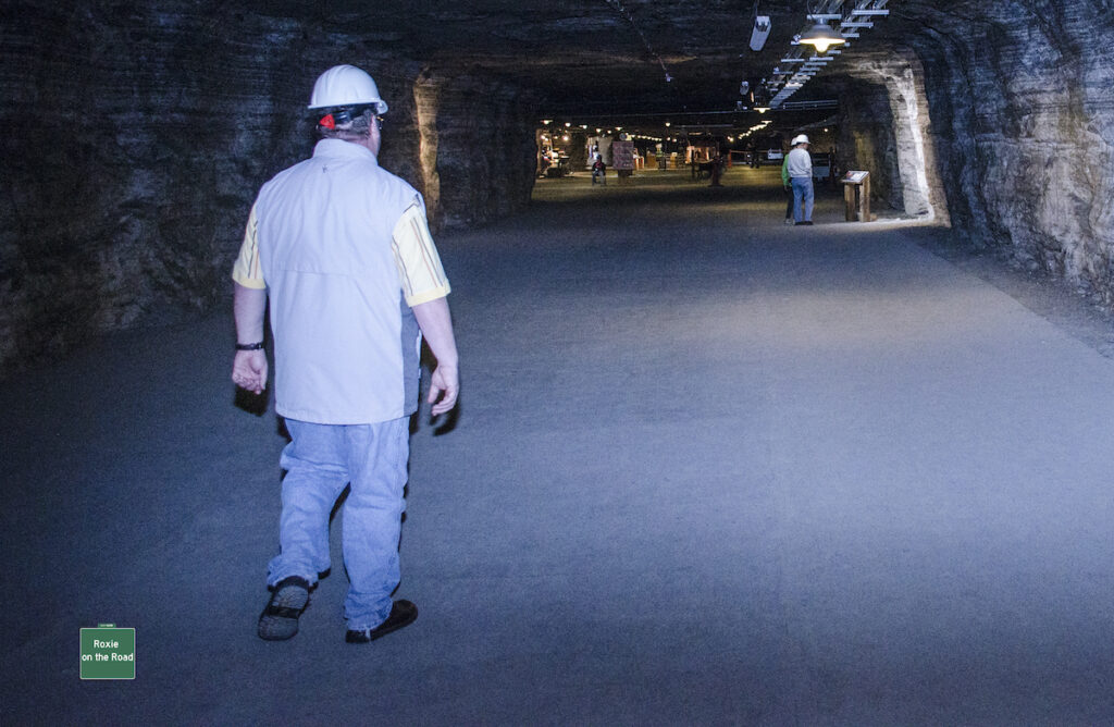 Strataca in Kansas Underground Salt Museum.