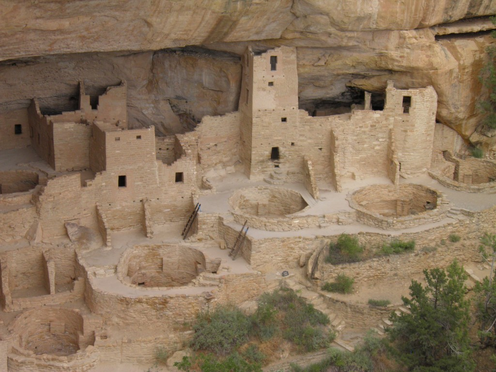 Mesa Verde archaeological site, Mesa Verde National Park, near Cortez, Colorado.
