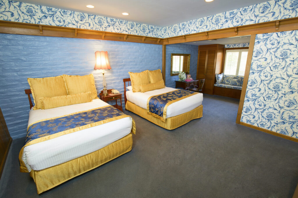 Bit of Solvang Room at the Madonna Inn.