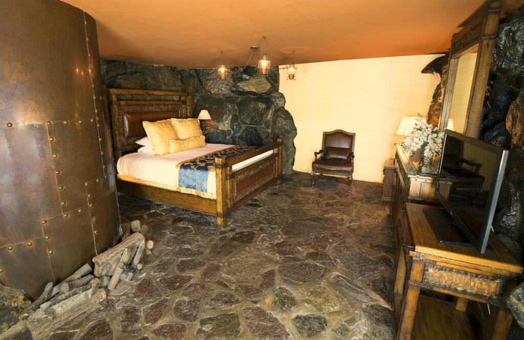 The Cabin Still Room at the Madonna Inn.