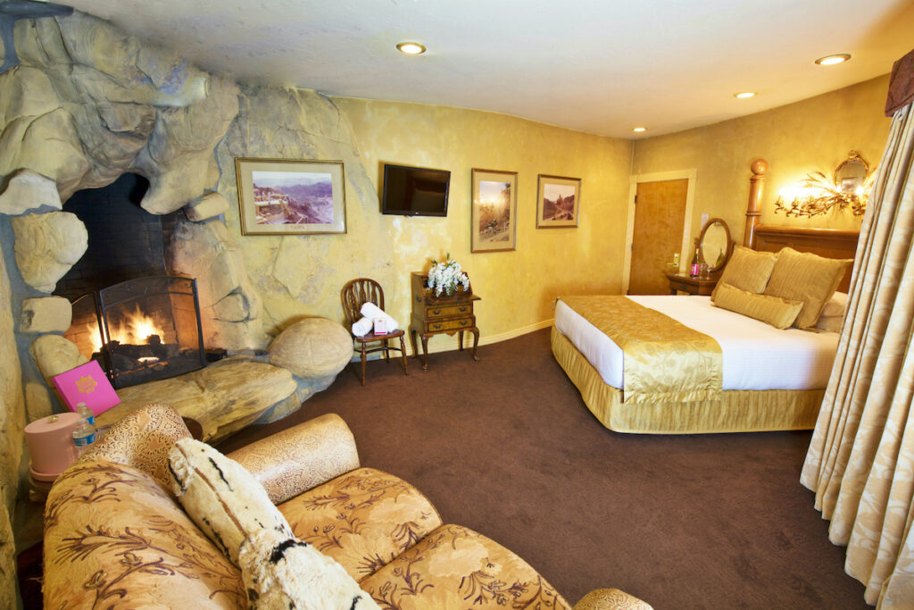 The Highway Suite at the Madonna Inn.