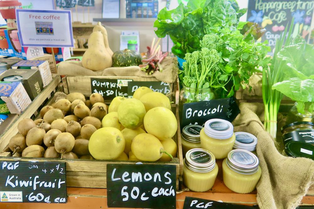 Farm produce, Peppergreen Farm, Bendigo