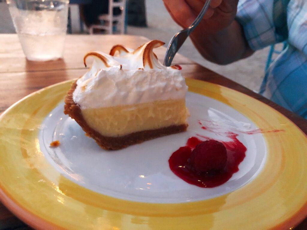 Key lime pie, Florida Keys.