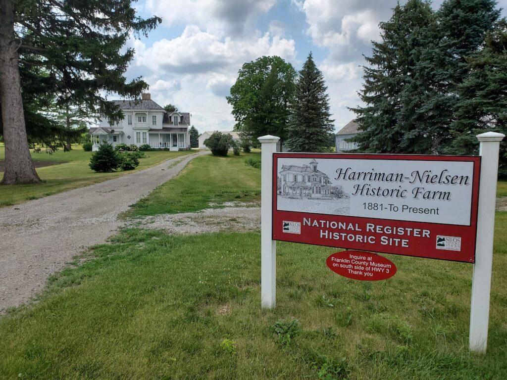 Harriman-Nielsen Historic Farm, Hampton, Iowa.