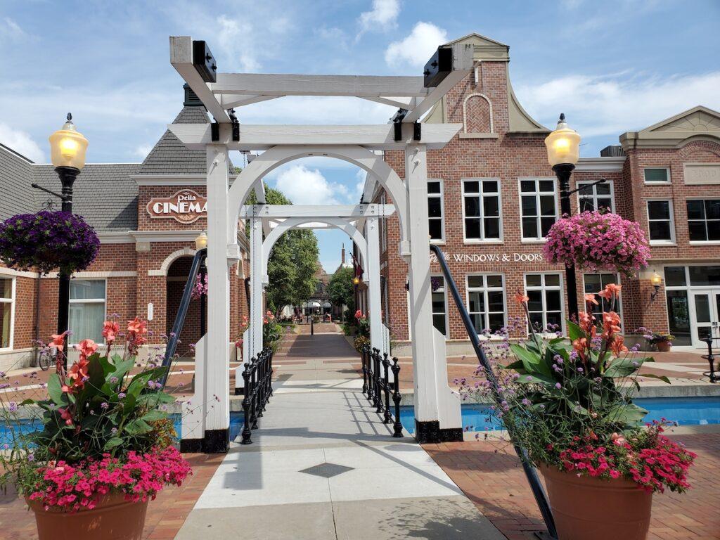 Town of Pella, Iowa.