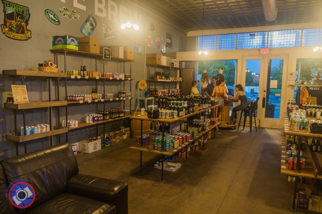 The Bottle Shop at Goldsboro Brew Works.