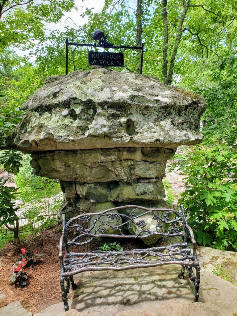 Mushroom Rock at Rock City Lookout Mountain
