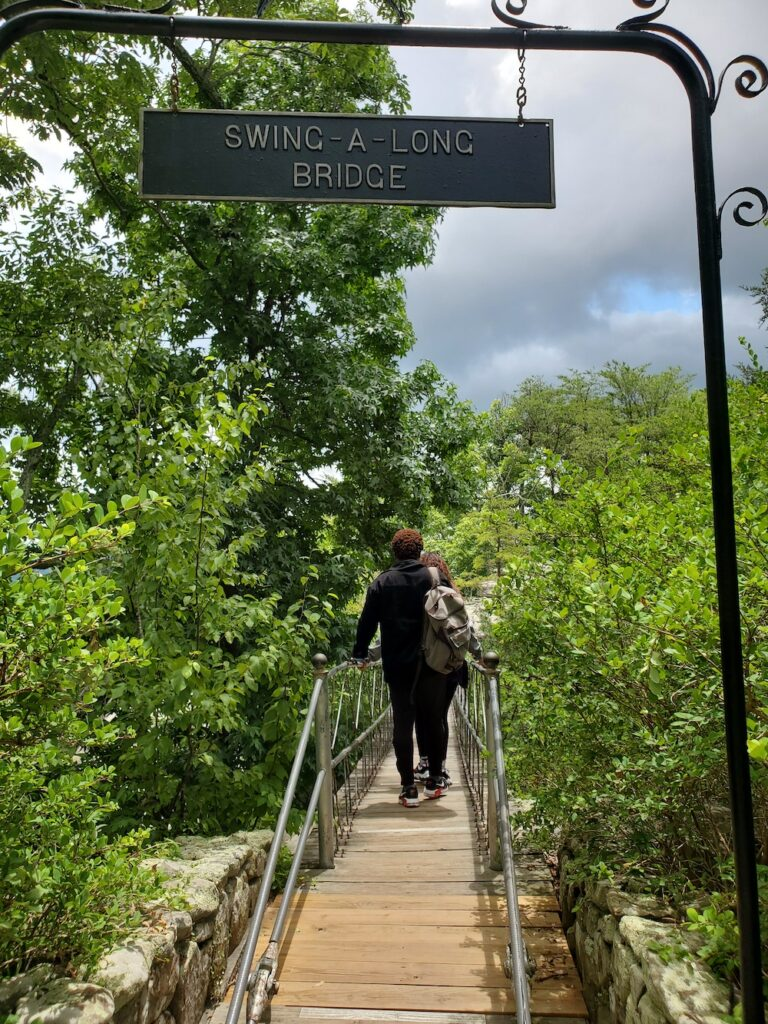 Swing-A-Long Bridge Rock City Lookout Mountain