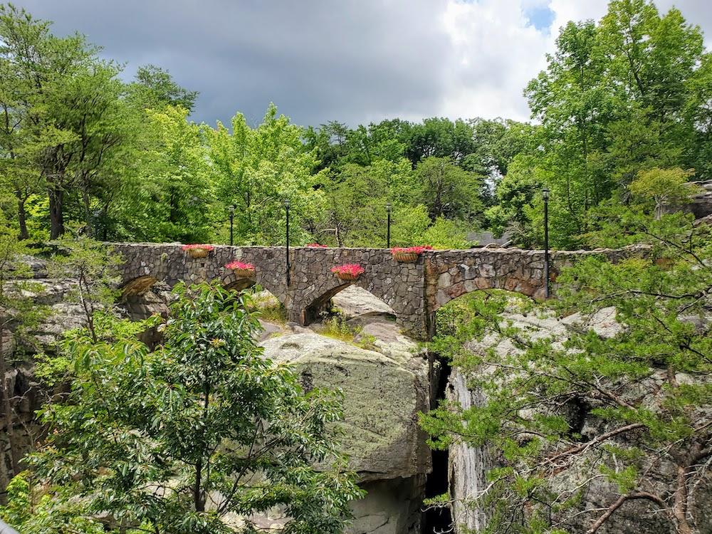 Stone Bridge at Rock City on Lookout Mountain