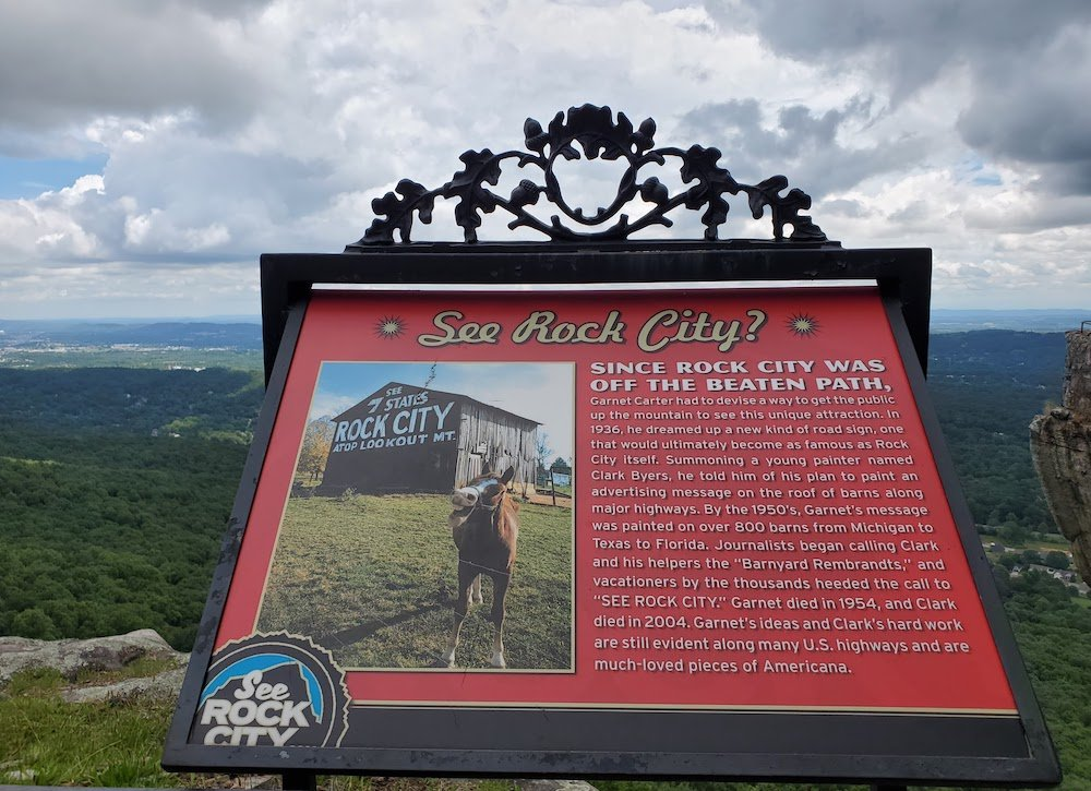 See Rock City sign explanation