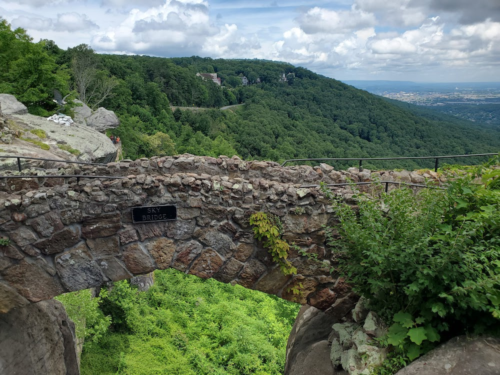 Sky Bridge Rock City Lookout Mountian