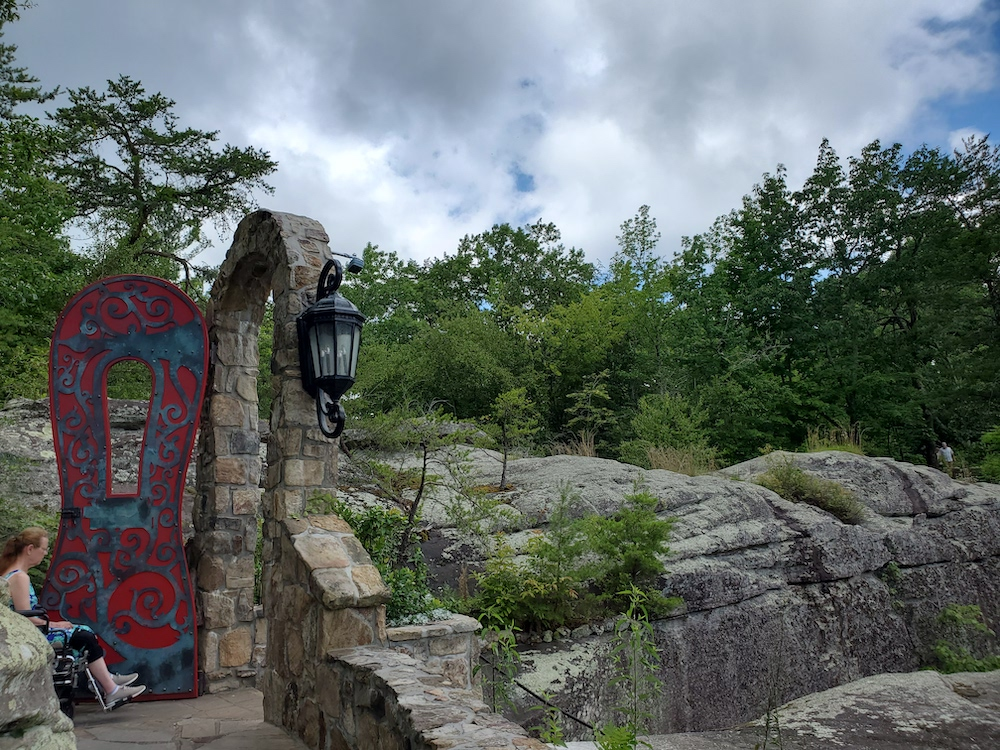 Parts of Rock City are wheelchair accesible