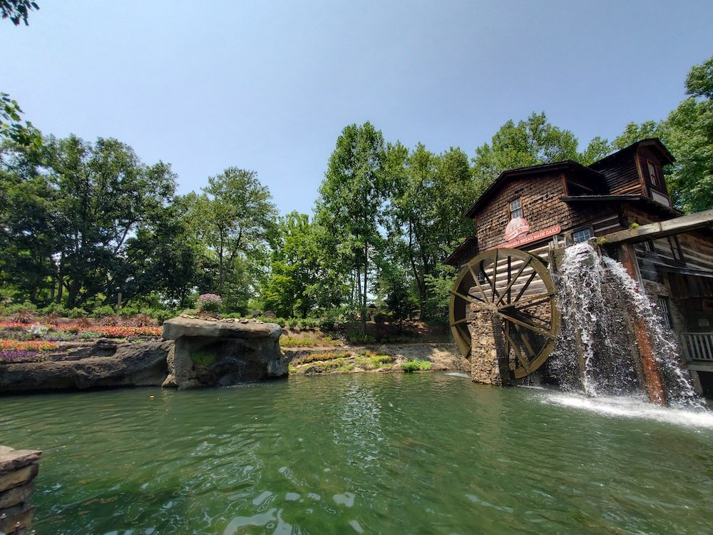 The Grist Mill, Where Dollywood's Signature Cinnamon Bread is Made