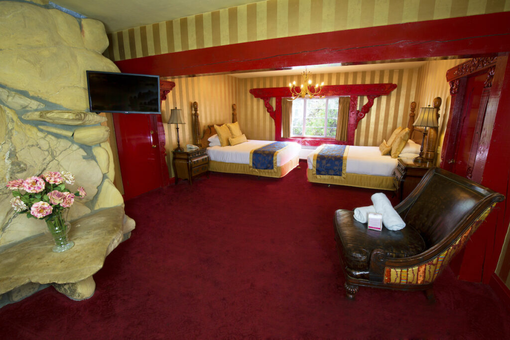 The American Home Room at the Madonna Inn.