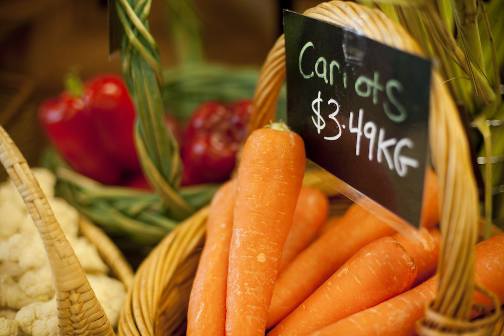 Vegetables, Bendigo Wholefoods