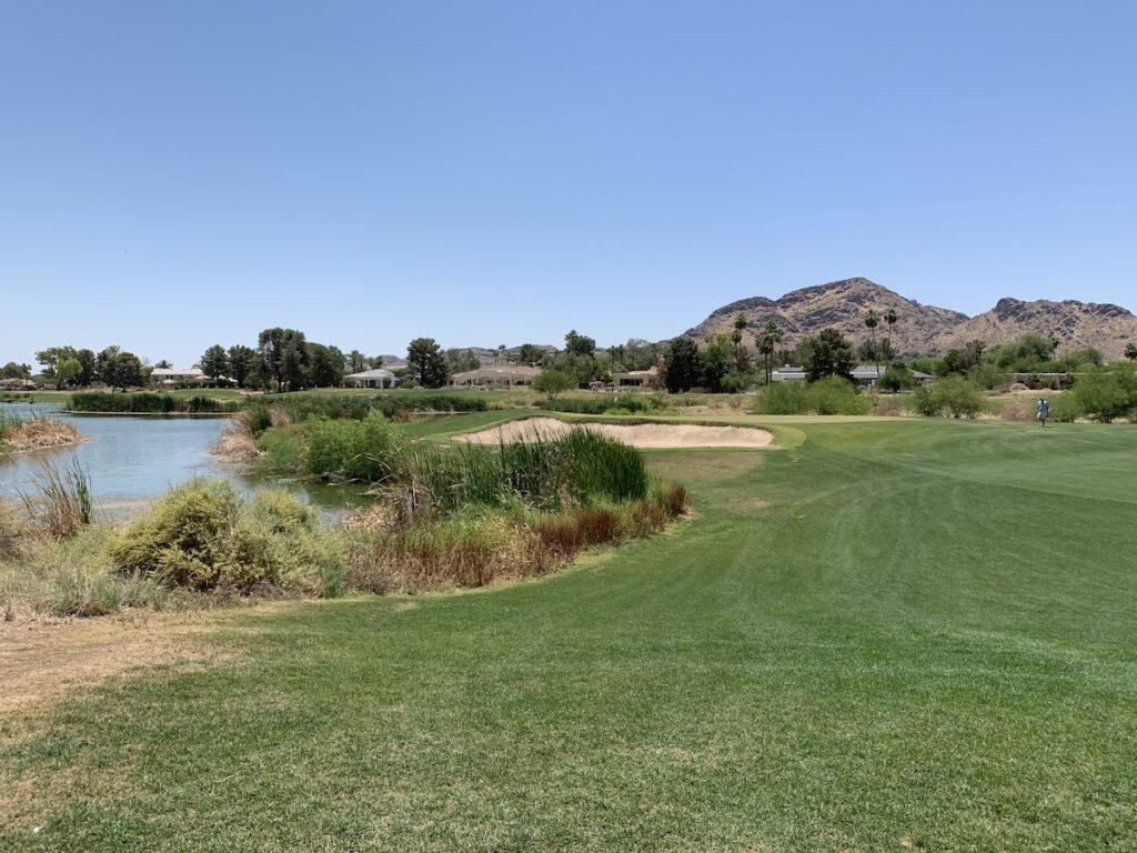 Camelback Golf Course in Scottsdale, Arizona.