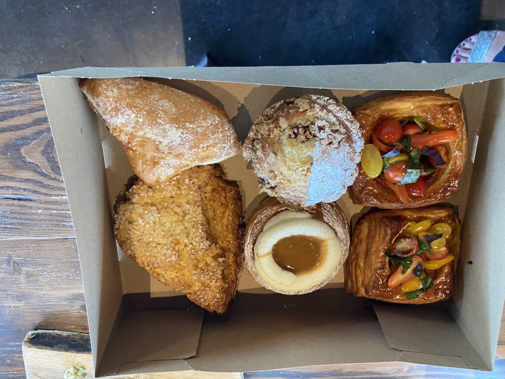 Delicious pastries at Walla Walla Bread Company, a restaurant and bakery.