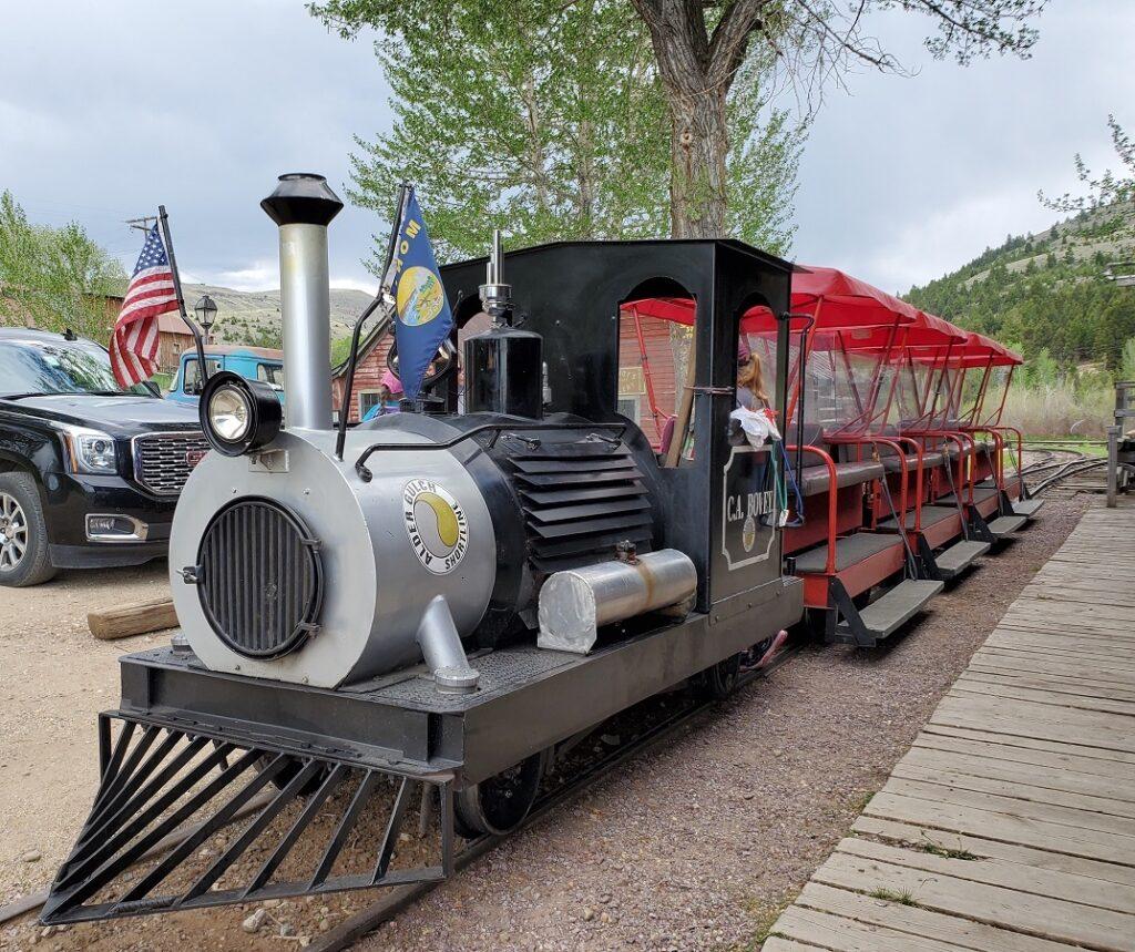 Adler Gulch Shortline Railroad.