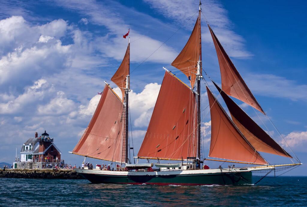 Beautiful windjamming vessel.