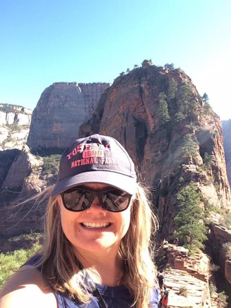 Angels Landing in Zion National Park.