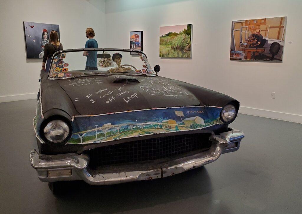 Art Car at the Art Car Museum.