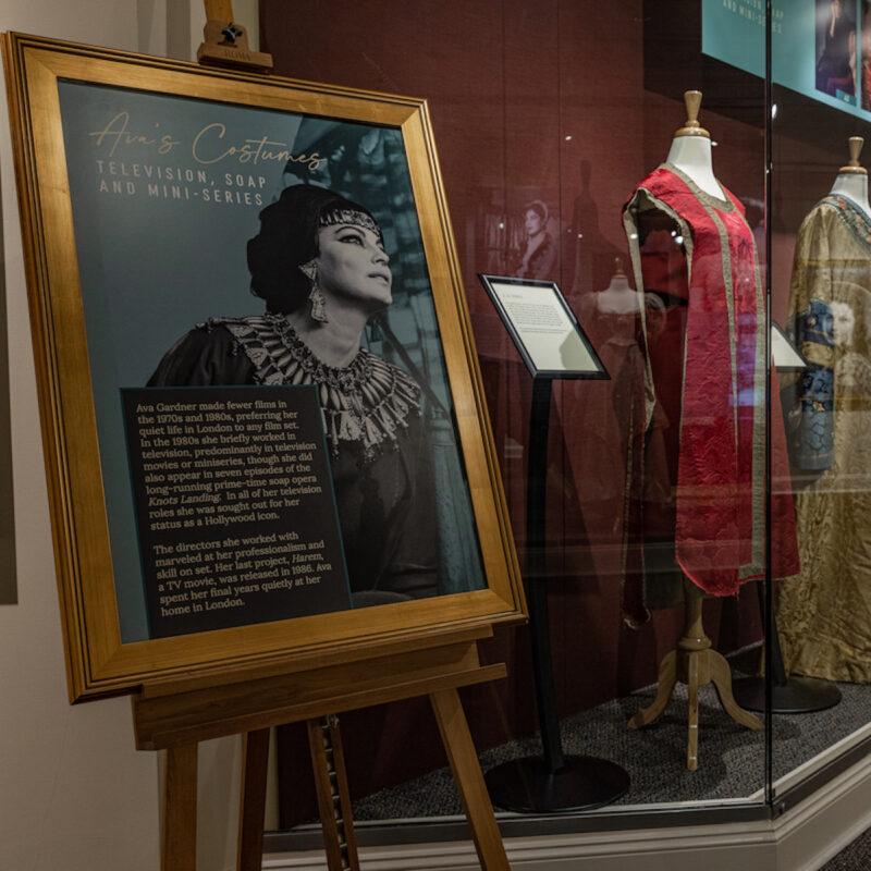 Costume display Ava Gardner Museum: Smithfield, NC