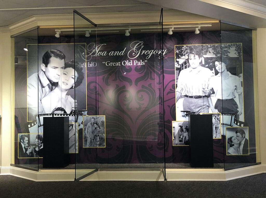 Ava Gardner and Gregory Peck Exhibit, Ava Gardner Museum in Smithfield, NC.