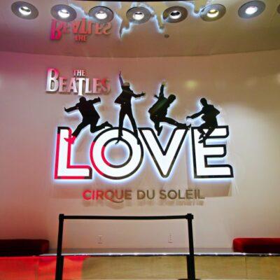 Beatles LOVE Las Vegas