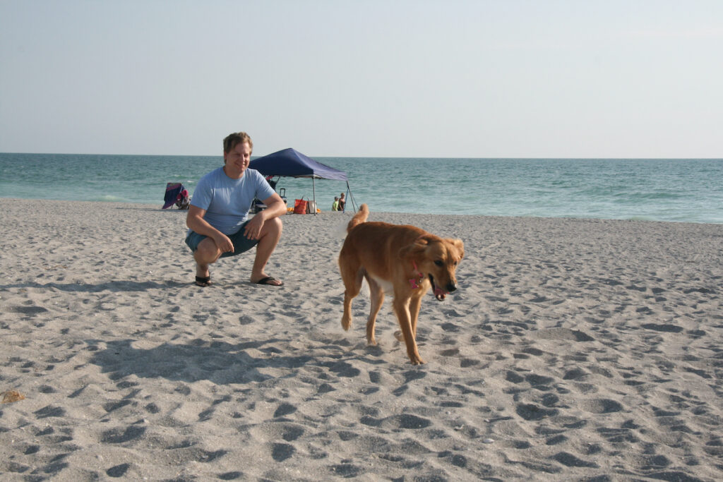 Brohard Dog Paw Park at Venice Beach, FL.