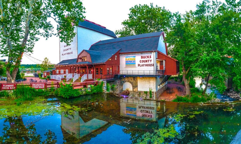 Bucks County Playhouse in New Hope, Pennsylvania.