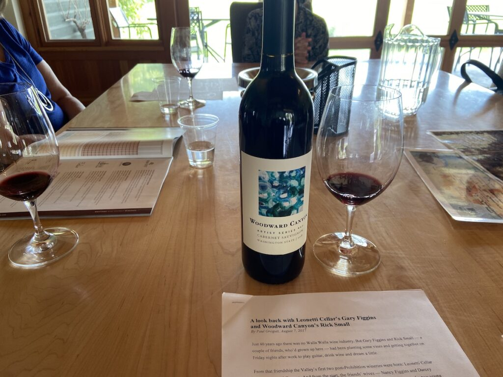 The Woodward Canyon Winery in Walla Walla, Washington.
