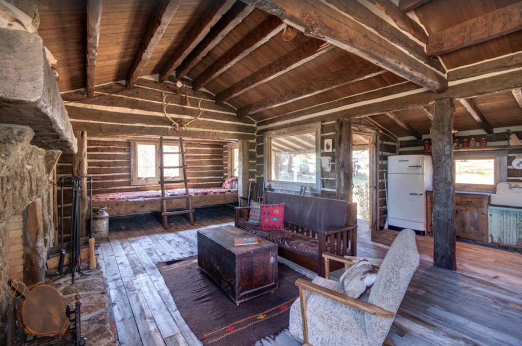 19th century cabin at Red Feather Lakes.