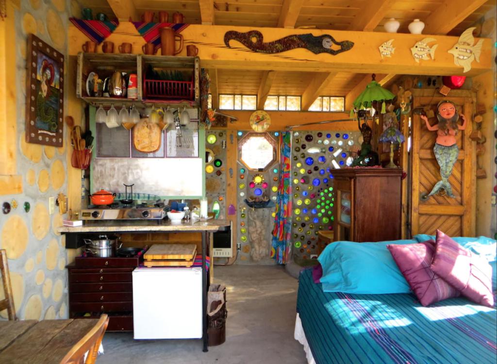Interior of Mermaid Cottage vacation rental.