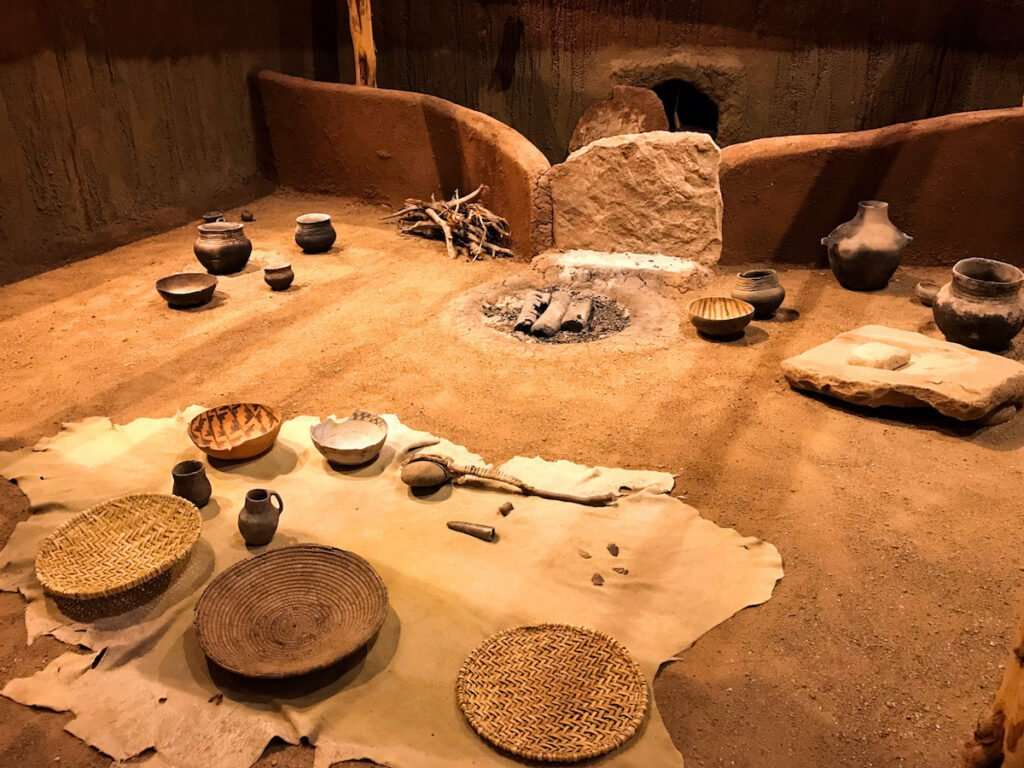 Exhibit in the Canyon of the Ancients Museum, Cortez, Colorado.