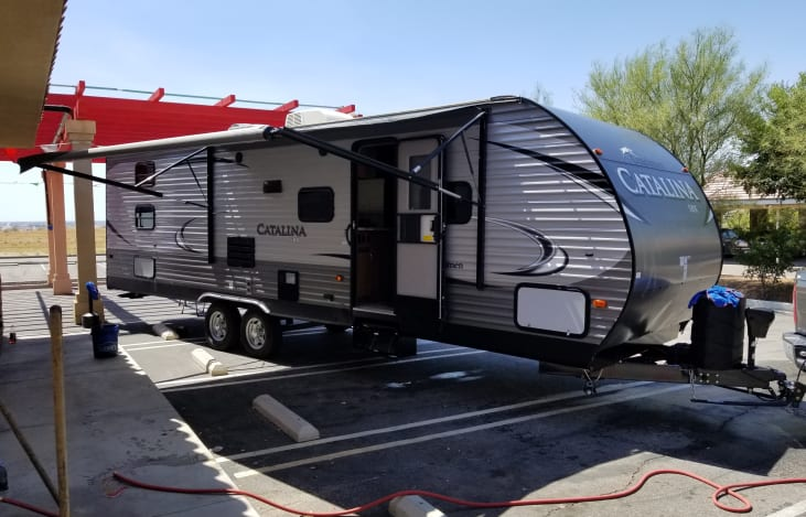 Catalina pull behind camper available in Lake Havasu from RVshare