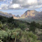Chisos Mountain Basin view