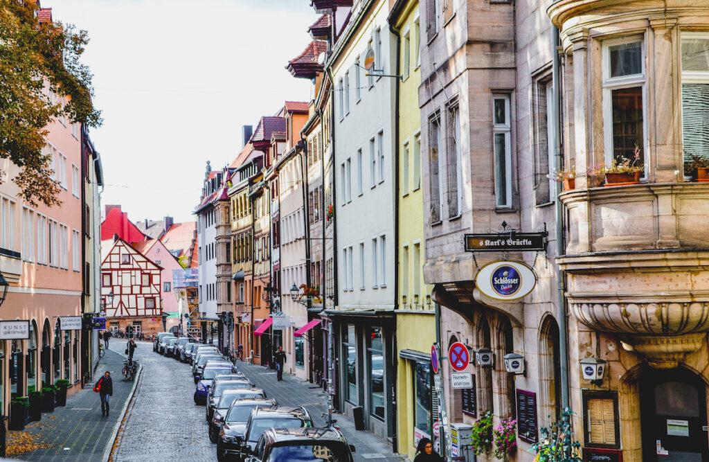 Shopping in Nuremberg.