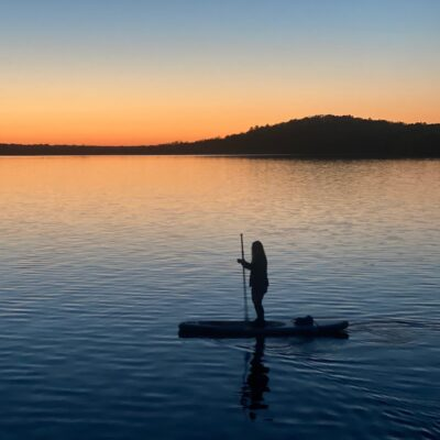 Paddleboarding in Muscle Shoals, AL-Cover