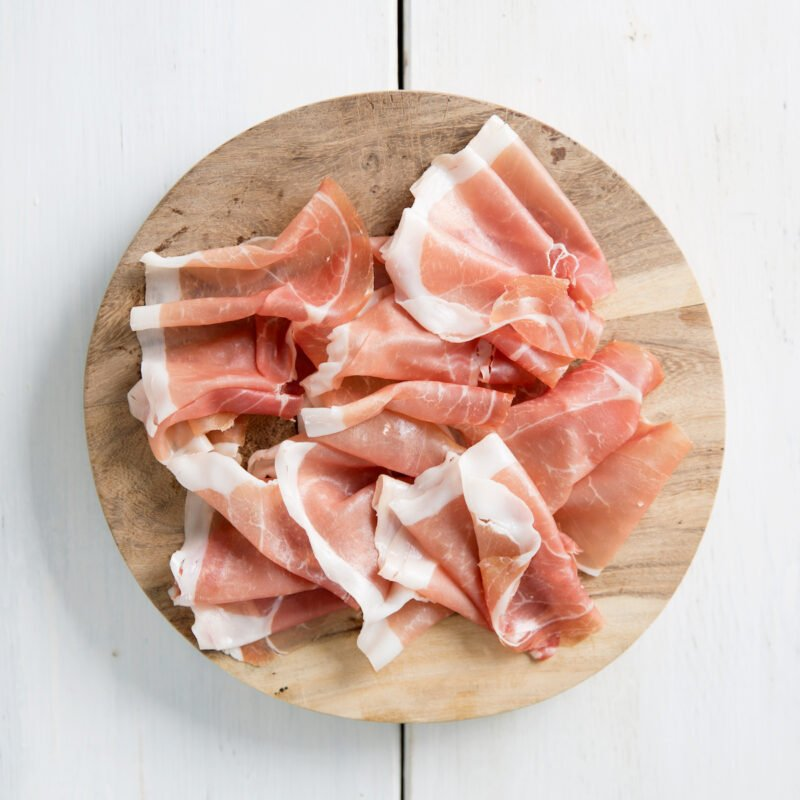 Plate of Parma ham