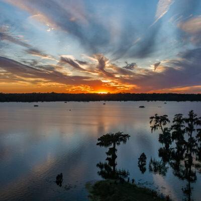 Sunset over Lake Martin