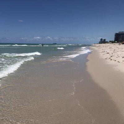 Beach in Surfside, FL